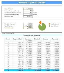 Loan Schedule Excel Template Amortization Schedule Excel Template Mortgage Payment Calculator