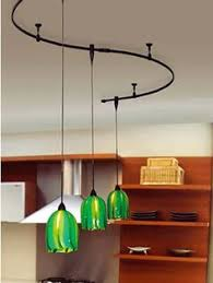 track lighting with pendants. Freeform WAC Bronze Solorail Monorail Track Shown With QP-501 Sockets And  G530-GR. Pendant Lighting Pendants