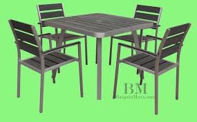 commercial outdoor dining furniture. Boraam_Polylumber 5pc Canaria Dining Set_888437766665a Commercial Outdoor Furniture G