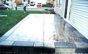 concrete slab patio ideas cost of concrete slab removal covering calculator decoration in patio ideas concrete