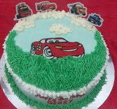 Jual Cars Birthday Cake Kue Ulang Tahun Tema Cars Ukuran 20cm