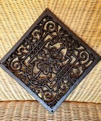 Filigran Gearbeitetes Gitter Rund Einem Mandala ähnlich