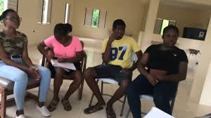 Our chairman Jerome Palmer engaging members of the Moneague Youth for  Change Club - YouTube