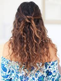Hairstyles For Frizzy Hair 22 Inspiration 24 Easy OntheGo Hairstyles For Naturally Curly Hair Byrdie UK
