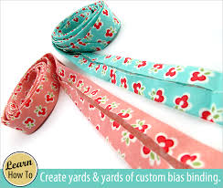 """How to Make Your Own Continuous Bias Binding 