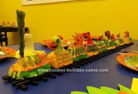Cool Homemade Dinosaur Train Cake