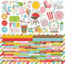 Summer Word List Summer Bucket List Word Strip Stickers