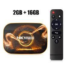 Buy HK1 RBOX R1 TV Box Android 10 4GB 64GB Rockchip RK3318 1080p 4K Google  Play HK1 BOX Set Top Box Android 10.0 TVBOX &