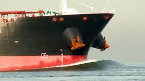 Modern Ship Bow Design Reducing Bow Waves On Ships Sailing Through Waterways