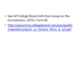 the constitution ppt video online  see ap college board info from essay on the constitution