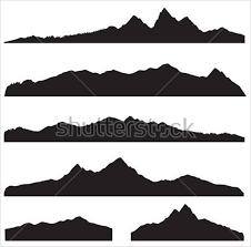 Mountain Silhouette Vector