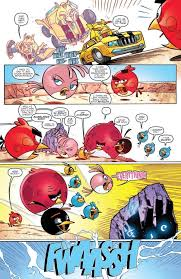 Small Picture Angry Birds Transformers 2 Angry Birds IDW Comic Book Review