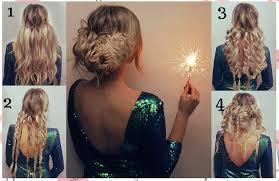 Elegantes Peinados Faciles Y Bonitos Para Fiesta De Noche