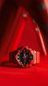 Download Wallpaper 1350x2400 Wrist Watch Watch Style Red