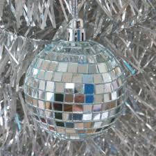 Disco Ball Light Tesco Good Done 16 Piece Disco Ball Mirror Ornament Party Christmas Tree Silver 40mm
