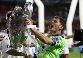 Image result for casillas champions league trophy