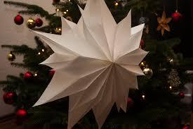 Einfacher Weihnachtsstern Aus Butterbrottüten Schnell