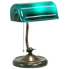 green glass desk lamp green shade desk lamp antique replacement glass bankers lamp shade green desk