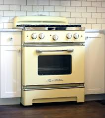 Vintage Look Gas Range Retro Stove With Custom Color Options Fireplace  Vintage Gas Stove Knobs