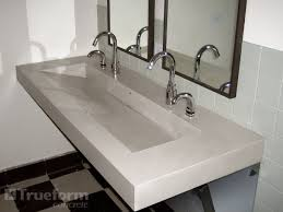 commercial bathroom sink. Commercial Bathroom Ideas · What Do You Think Of A Double, Floating Sink In The 2nd Master And Then O