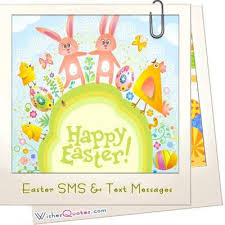 <b>Easter SMS</b> & <b>Text</b> Messages – By WishesQuotes