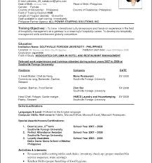 Resume Examples For It Professionals Resume Samples For Banking