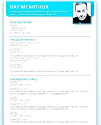 Attractive Resume Templates Delectable Word Document Resume Template Attractive Templates Free Download