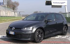 VOLKSWAGEN GOLF GTD 2014 - GTD ON TRACK! - YouTube