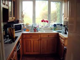 U Shaped Kitchen Layout U Shaped Kitchen Layout With White Granite Countertop Also With