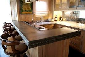 contemporary bar top ideas