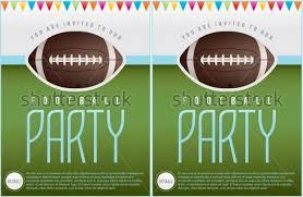 Free Football Invitation Templates Great Football Party Invitations Templates Free Rescue