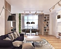 Interior Design Style Bookshelves And Focused Lighting For The Modern Space  Eclectic