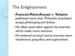 chapter two the constitution pre revolution by the first time  the enlightenment francois marie arouet or voltaire published more than 70 books of political essays