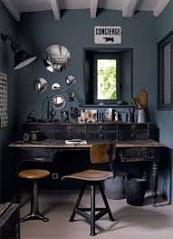 masculine home office. Rustic Masculine Home Decor | Boho Chic Office Designs M