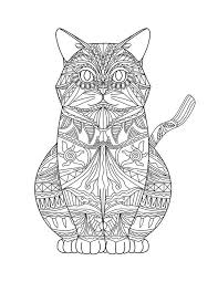 Small Picture Adult Coloring Pages Cats 3 2 Adult Coloring Ideas Pinterest