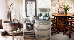 35 genius ways people are repurposing whiskey wine barrels how to use barrels as decor