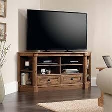 corner media cabinet. Corner Media TV Stand Console Entertainment Center Vintage Oak Cabinet Shelves