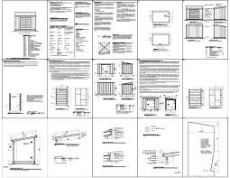 Small Picture Free Storage Shed Plans 812 How To Build An Amish Shed Shed