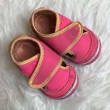 Details About Stride Rite Baby Girl Sz 3 5 W Wide Breezy Water Shoes Sandals Neon Pink Green