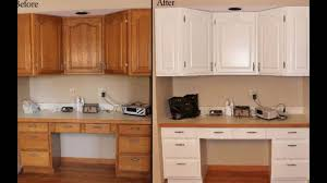 painting wooden kitchen cupboards refinishing old wood cabinets