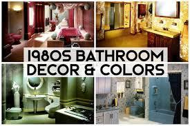 1980s bathroom decor color schemes