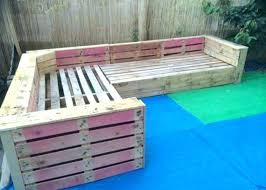 wooden pallet outdoor furniture. Outdoor Furniture Made With Pallets Ideas From For Pallet Patio Or Garden Corner Sofa How To Build Wooden O