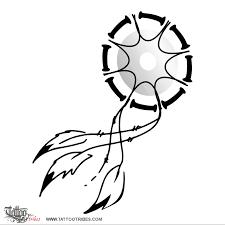 Dream Catcher Symbolism Enchanting Tattoo Of Dreamcatcher Protection Tattoo Custom Tattoo Designs On