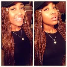 Light Red Box Braids Pretty Girl Box Braids Beautiful Black Women Cutie
