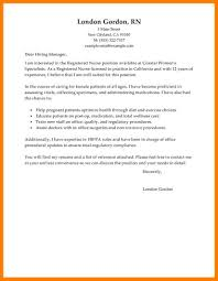 10 Nursing Cover Letter Examples Job Apply Letter