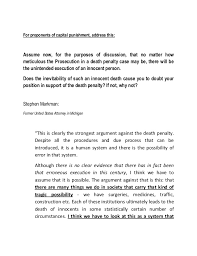 death penalty in the us essay write my essay how to write  death penalty in the us essay