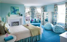 Blue Rooms For Girls Blue Bedroom Ideas For Teenage Girls Contemporary Drawer Double