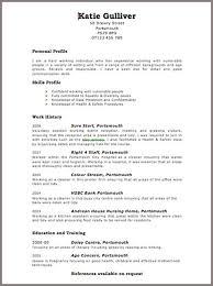 Free Cv Samples Templates | Sample Resume For Journalism Internship Free Cv Samples Templates
