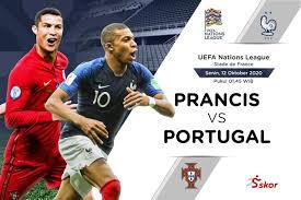 Sementara portugal bertengger di urutan ketiga (di bawah jerman) dengan torehan tiga poin. Susunan Pemain Uefa Nations League Prancis Vs Portugal