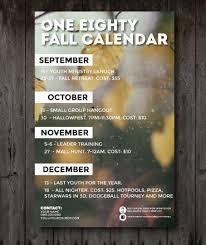 Basic Calendars Basic Fall Calendar Youth Ministry Media Store